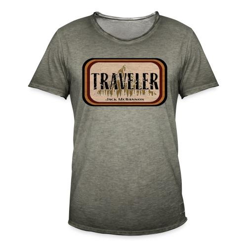 Jack McBannon -Traveler - Männer Vintage T-Shirt