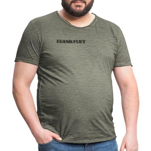 Frankfurt - Meine Stadt - Männer Vintage T-Shirt
