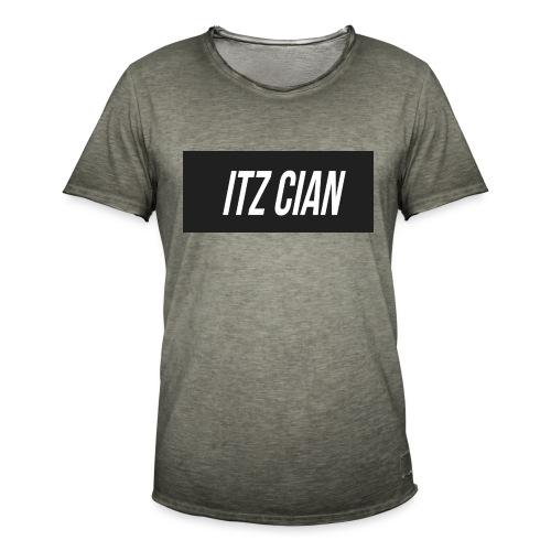 ITZ CIAN RECTANGLE - Men's Vintage T-Shirt