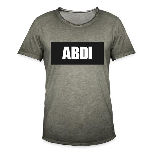 Abdi - Men's Vintage T-Shirt