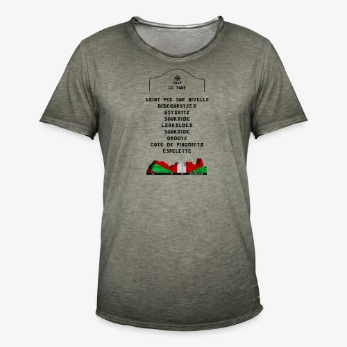 le tour 2018 - T-shirt vintage Homme