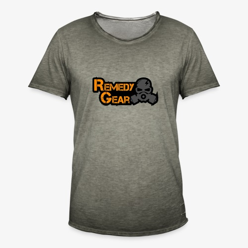 Remedy Gear Logo Wear - Men's Vintage T-Shirt