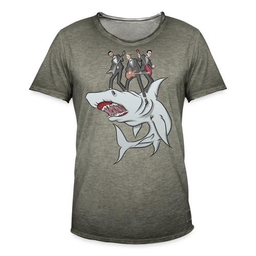 Shark Attack - Men's Vintage T-Shirt