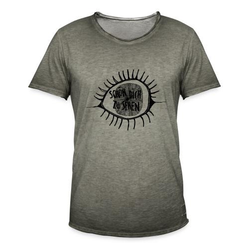 auge - Männer Vintage T-Shirt