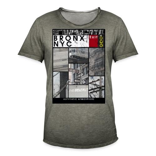 Bronx Nyc - Miesten vintage t-paita