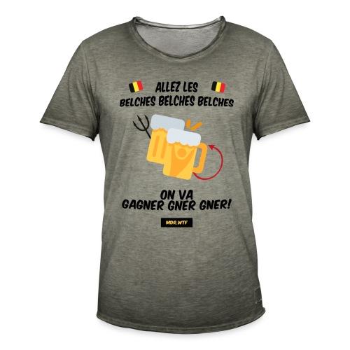 Allez les belches! - T-shirt vintage Homme