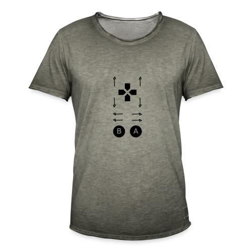 Konami Code - Männer Vintage T-Shirt