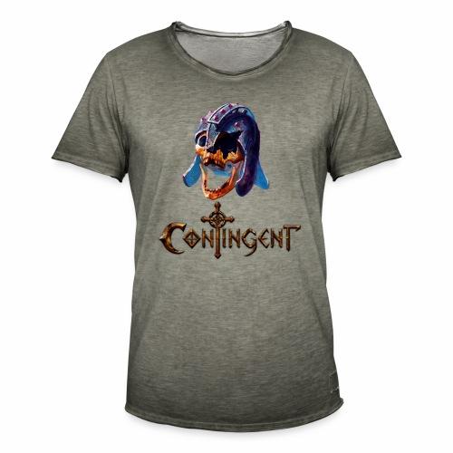 Contignent Logo - Men's Vintage T-Shirt