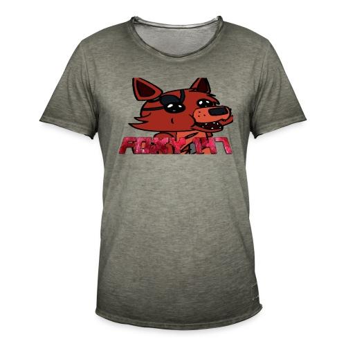 FOXY 147 - Maglietta vintage da uomo