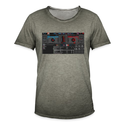 dj - Camiseta vintage hombre