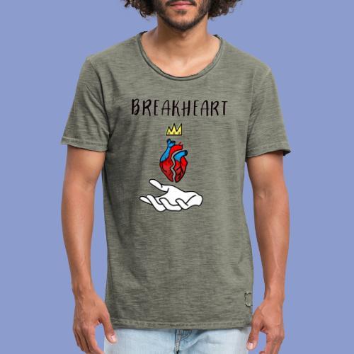 BREAKHEARTH - Maglietta vintage da uomo