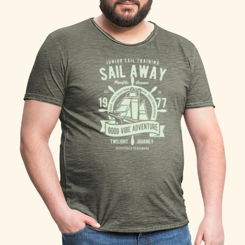 Sail Away - Männer Vintage T-Shirt