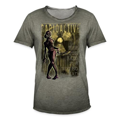 RADIOACTIVE - Männer Vintage T-Shirt