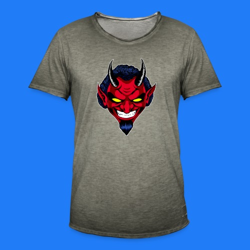 DEMON HEAD by Agill - T-shirt vintage Homme