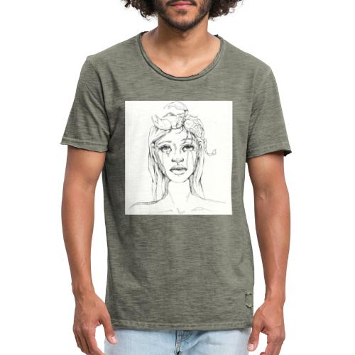 scorpion girl - Men's Vintage T-Shirt