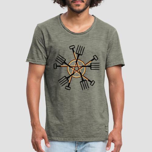 PAGAN GARDENER - Men's Vintage T-Shirt