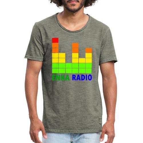 Enka radio - T-shirt vintage Homme