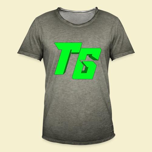 TristanGames logo merchandise [GROOT LOGO] - Mannen Vintage T-shirt