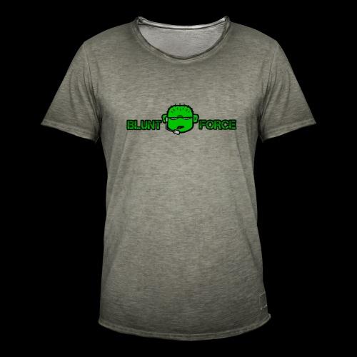 The Blunt Force - Vintage-T-shirt herr