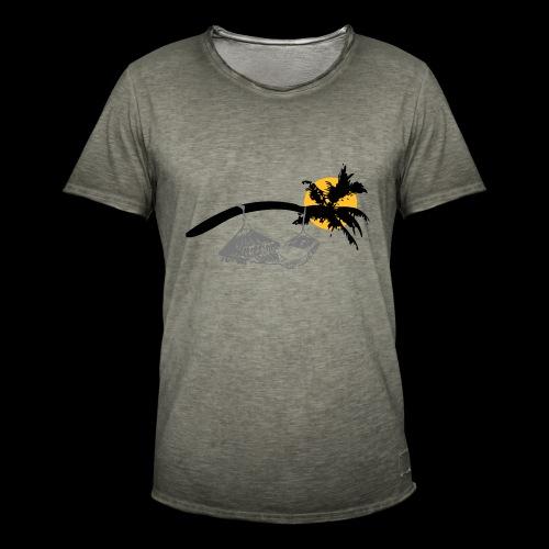 Entspannung bei Nacht - Männer Vintage T-Shirt