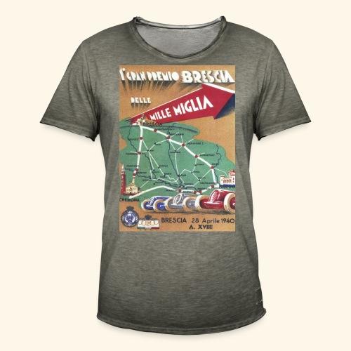 Mille Miglia 1940 Tee - Men's Vintage T-Shirt