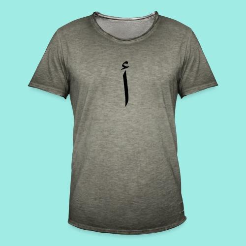Alif - Männer Vintage T-Shirt