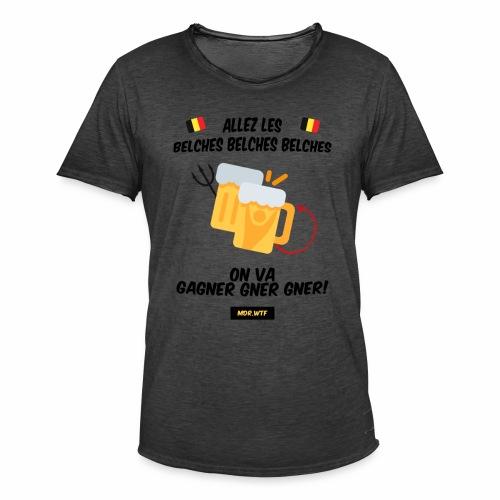 allez belge Par MDR.WTF - T-shirt vintage Homme