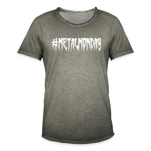 Metalmonday Klassik - Männer Vintage T-Shirt