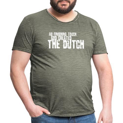 DUTCH4 - Mannen Vintage T-shirt