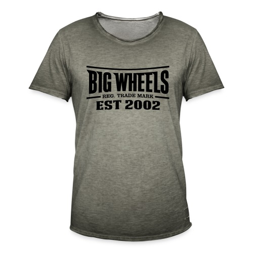 BW est 2002 - Miesten vintage t-paita