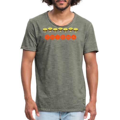 Walking Enigma - Men's Vintage T-Shirt