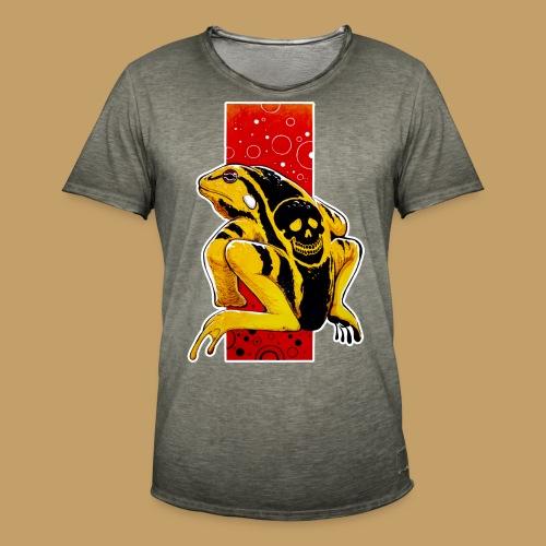 Death Frog - Koszulka męska vintage