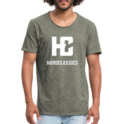 HC tekst logo - Mannen Vintage T-shirt