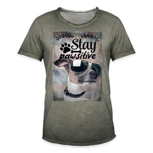 stay - Männer Vintage T-Shirt