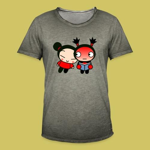 Pucca y Garu - Men's Vintage T-Shirt