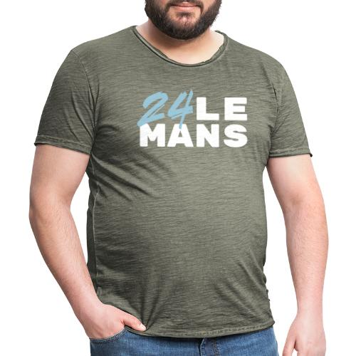24h Le Mans (bleu) - Männer Vintage T-Shirt