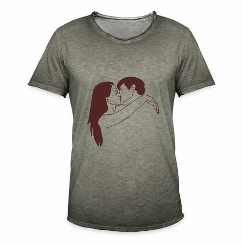 Fall in love - Maglietta vintage da uomo