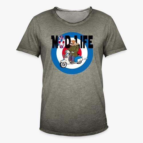 BritishBullDogModLife - Men's Vintage T-Shirt