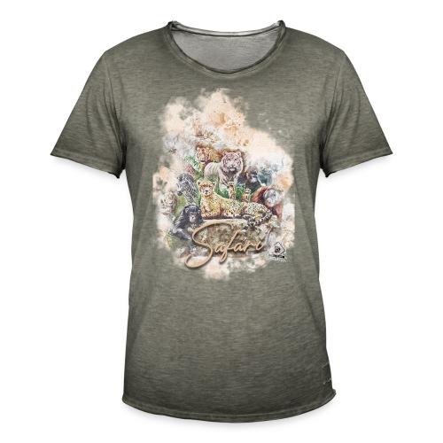 safari3 - Männer Vintage T-Shirt