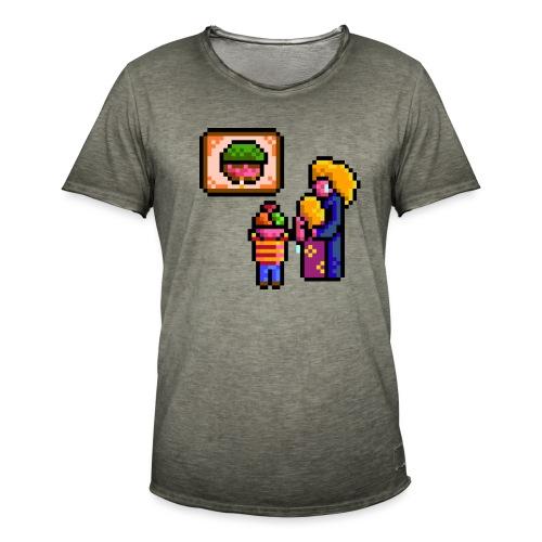 familycri - Vintage-T-skjorte for menn