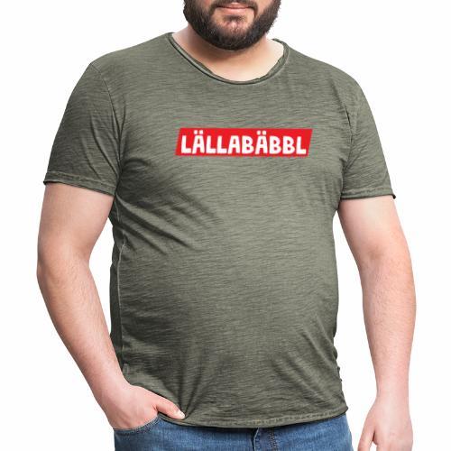 Lällabäbbl - Männer Vintage T-Shirt