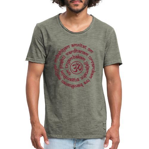 Tryambakam Mantra das Mantra zur Befreiung - Männer Vintage T-Shirt