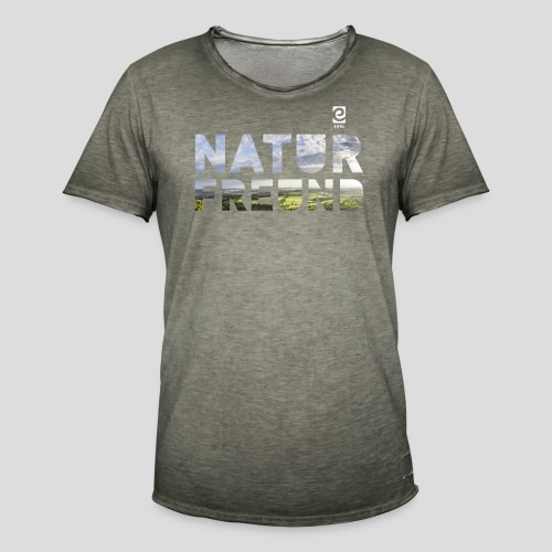 Naturfreund - weiß - Männer Vintage T-Shirt