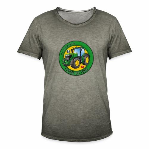 Logo de la Ferme - T-shirt vintage Homme
