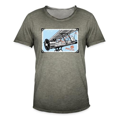 Doppeldecker - Männer Vintage T-Shirt