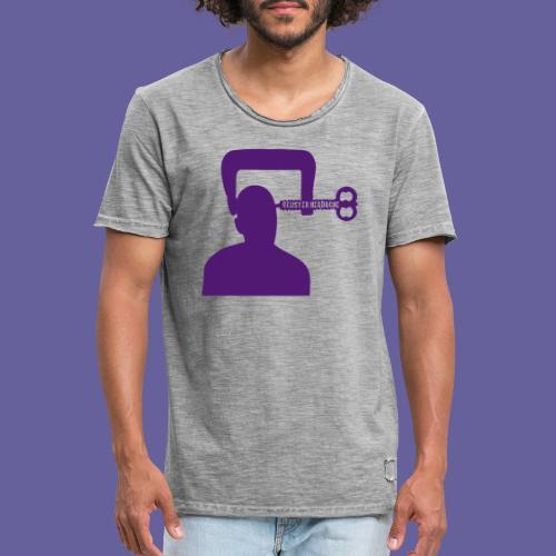 Mal de tête en grappe dans un étau - T-shirt vintage Homme