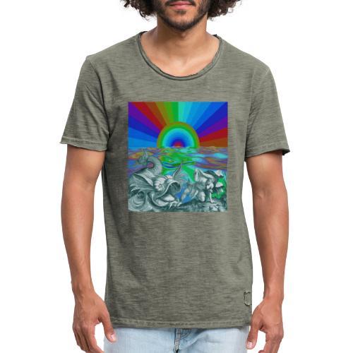 c21x - Camiseta vintage hombre