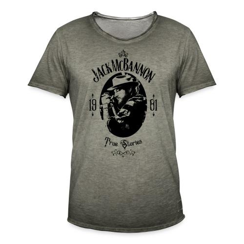 Jack McBannon - True Stories Portrait - Männer Vintage T-Shirt