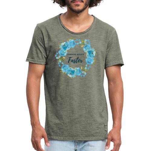 Verdens bedste faster - Herre vintage T-shirt