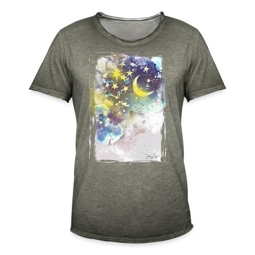 nightsky - Männer Vintage T-Shirt